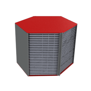 High performance heat exchanger - Housing