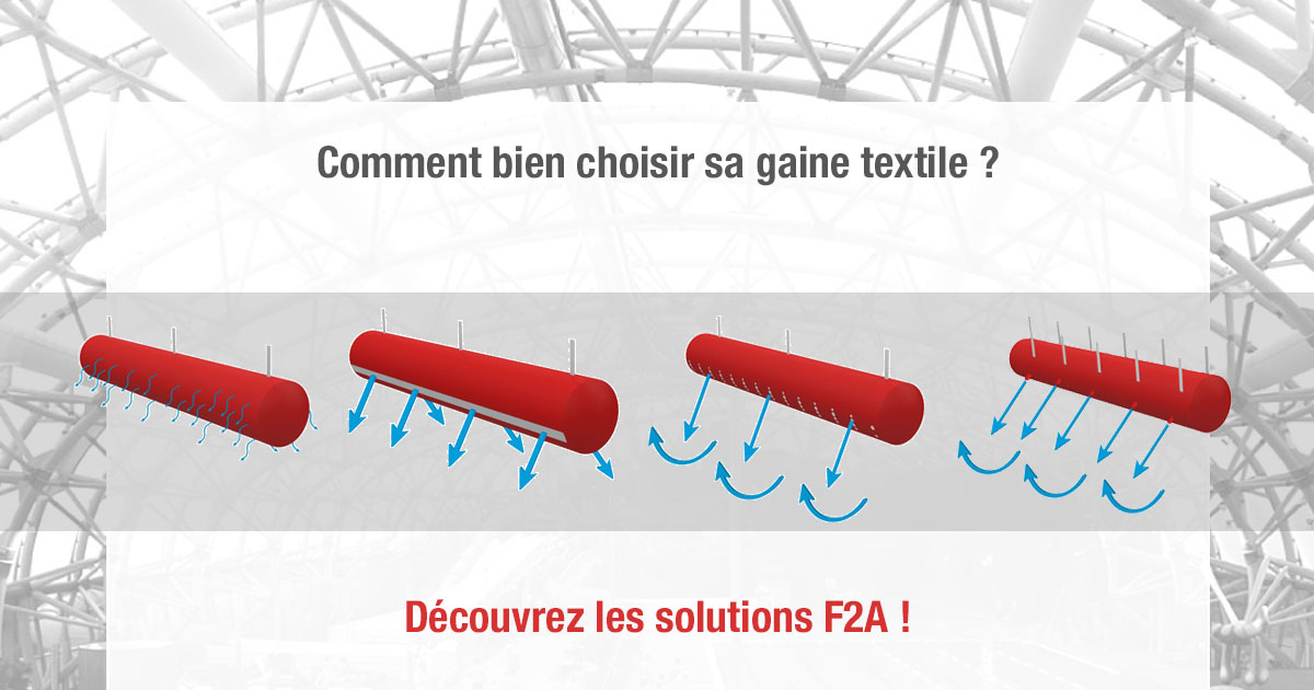 Choose your textile ducts with F2A