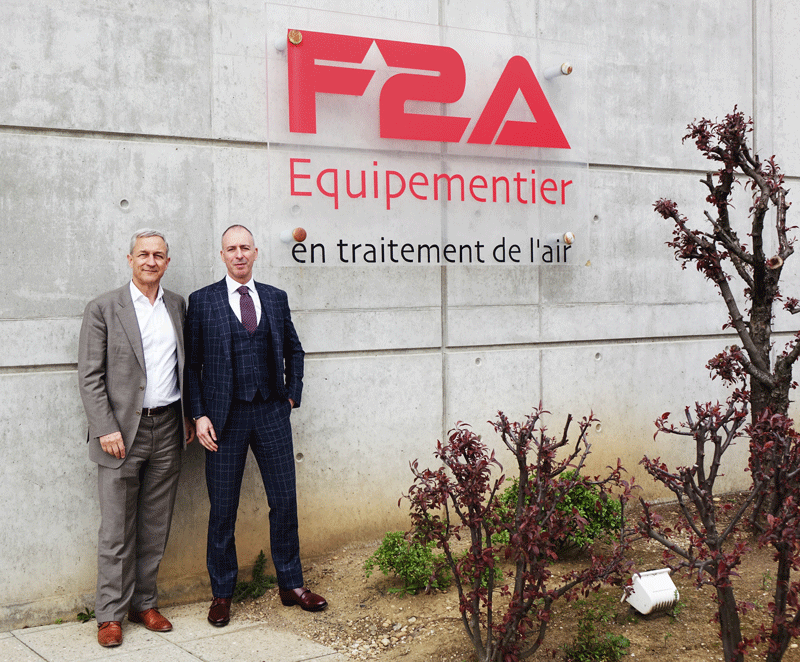 A new Chief Executive Officer at F2A !