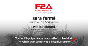 Summer closure F2A