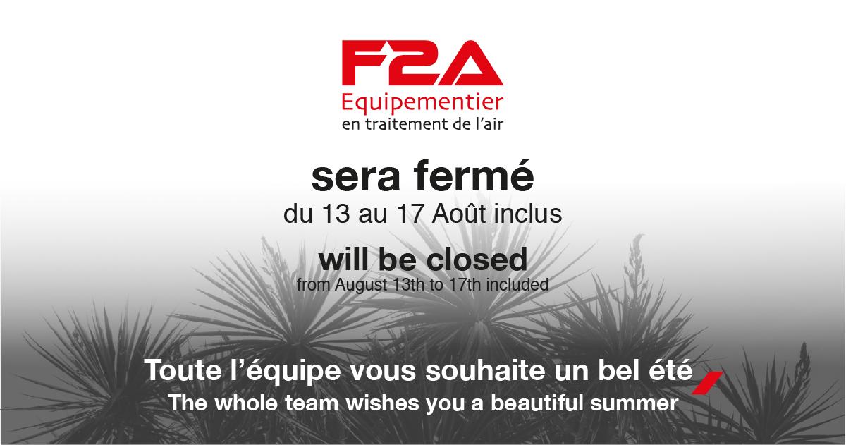 Summer closure F2A