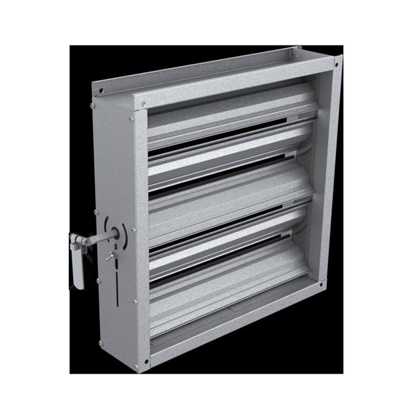 Registre d'Isolement Ventilation - produit aéraulique équilibrage