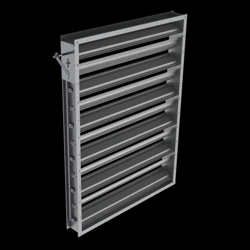 Registre Tertiaire PLG - HVAC Applications Damper