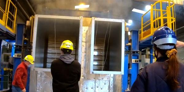 Essais feu clapet coupe-feu TKS CCF 2021 - F2A